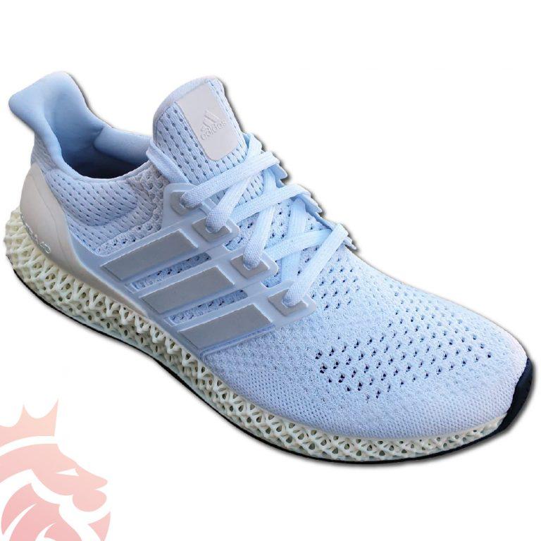 Adidas UltraBoost 4D White on White Upper