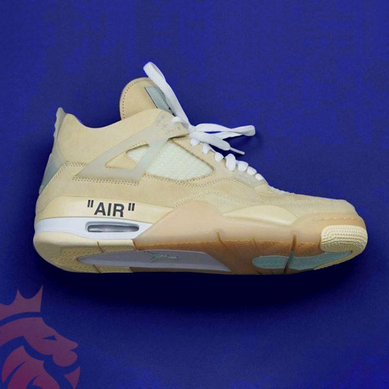 "Off-White x Air Jordan 4 ""Cream"""