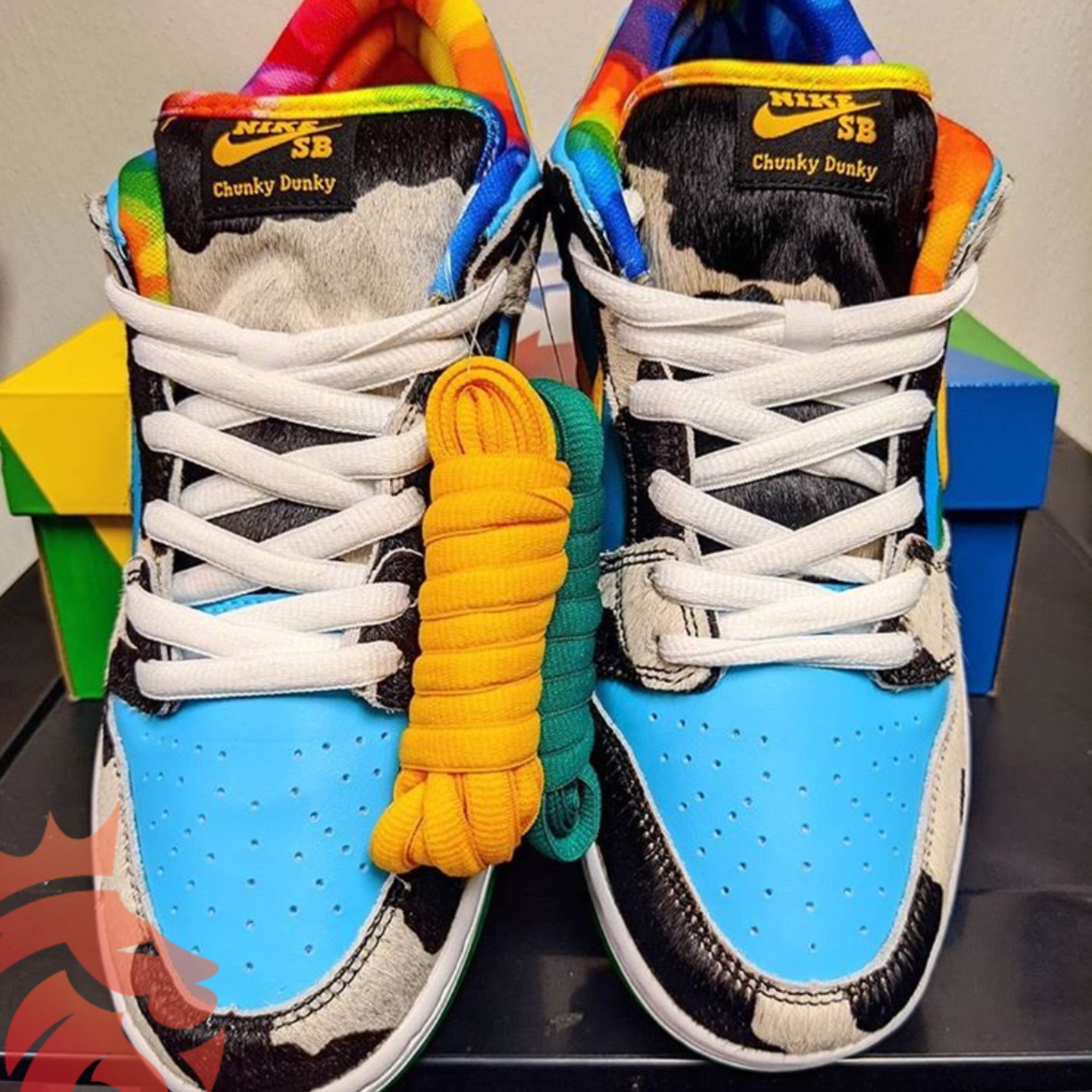 Ben & Jerry x Nike SB Dunk Chunky Dunky