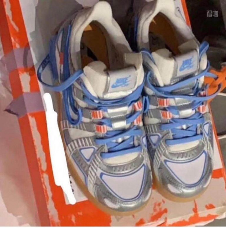 """Nike Off-White Rubber Dunk """"UNC"""""""