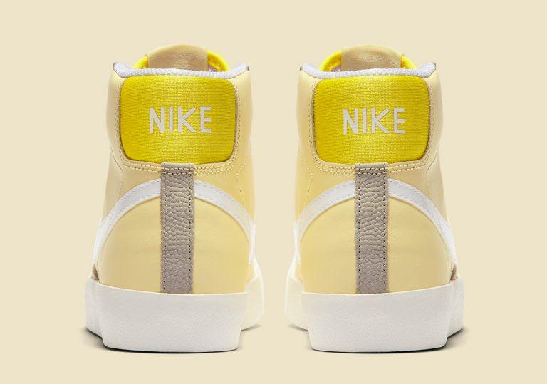 Nike Blazer Mid Bicycle Yellow/Opti Yellow-Fossil-White