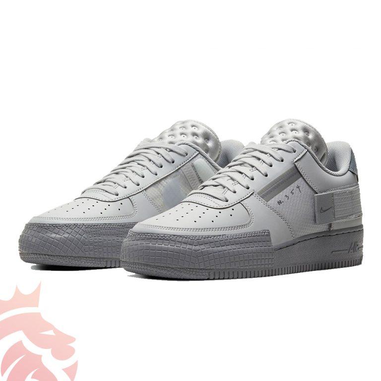 Nike Air Force 1 N354 Type Triple Grey