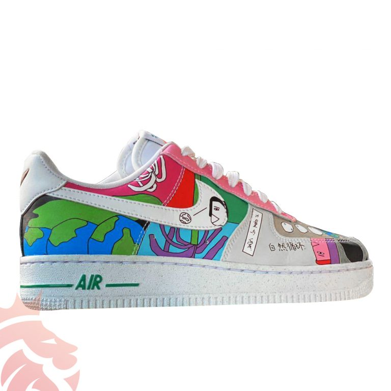 Ruohan Wang Nike Air Force 1 Low Earth Day Colorway